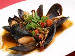 新鮮な魚介類が盛りだくさんのイタリアン
