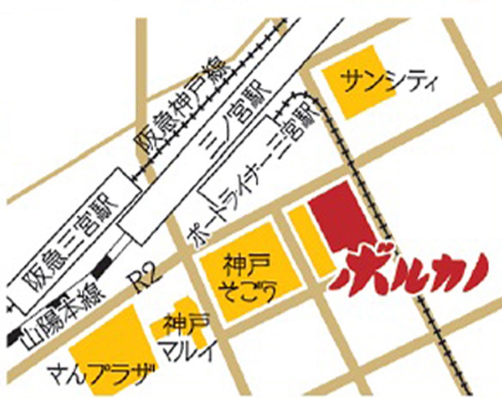 神戸市中央区小野柄通7丁目1-1 地図